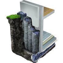 panneau pour isolation verticale ext rieure des murs enterr s et soubassements perimate di ap. Black Bedroom Furniture Sets. Home Design Ideas