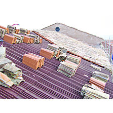Panneaux de toiture en polycarbonate plan ou nervur for Pose tuile canal sur muret