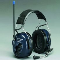 Casque pour protection auditive et radiocommunication