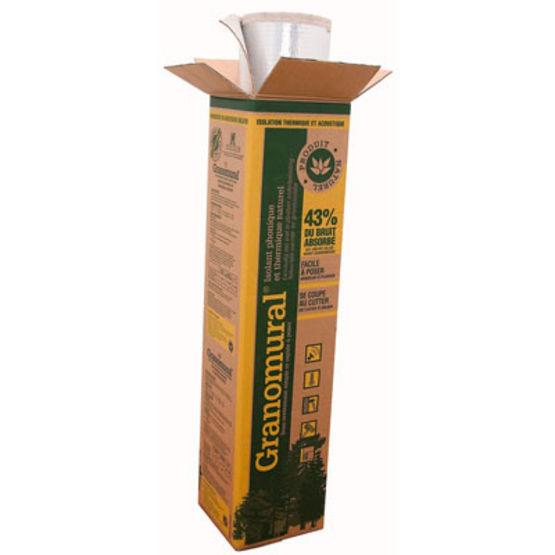 Sous couche isolante mince base de fibres de bois pour for Sous couche bois exterieur
