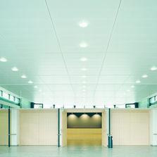 Armstrong fabricant de faux plafonds et plafonds acoustiques - Ossature faux plafond dalle ...