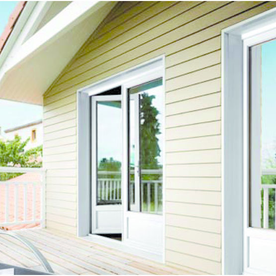 Pr cadre pvc pour maison a ossature bois pab menuiserie for Huisserie pvc