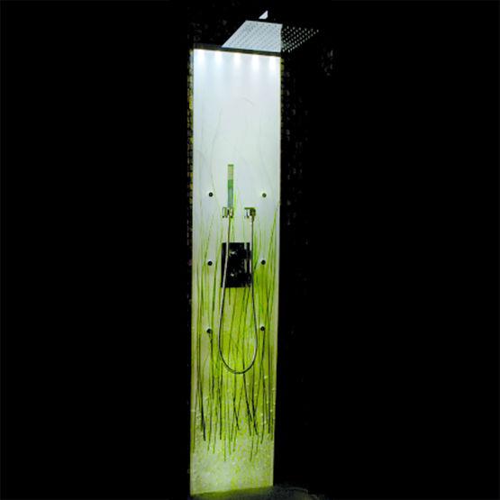 Colonne de douche avec brumisateurs tes somethy Solde colonne de douche