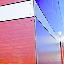 bardages et panneaux de fa ade en bois massif ou reconstitu produits du btp. Black Bedroom Furniture Sets. Home Design Ideas