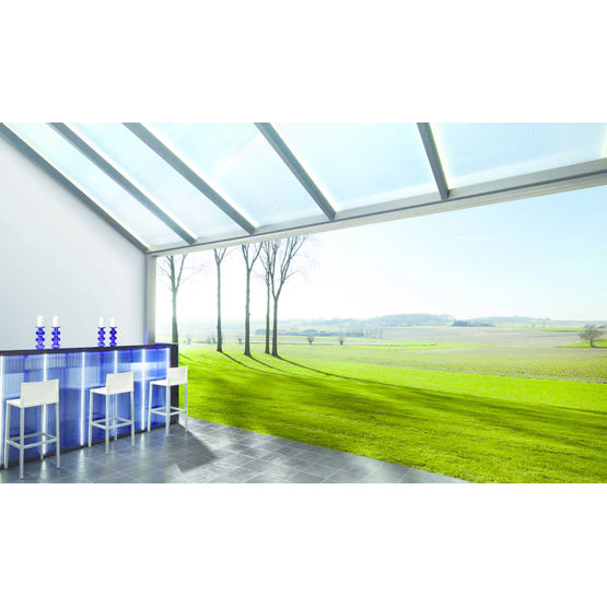 Recouvrement de terrasse ou véranda sur mesure en structure aluminium