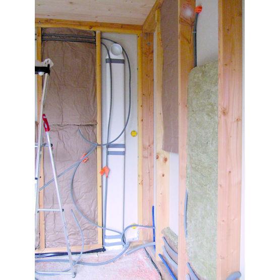 gaine plate pour r seau de ventilation aldes. Black Bedroom Furniture Sets. Home Design Ideas