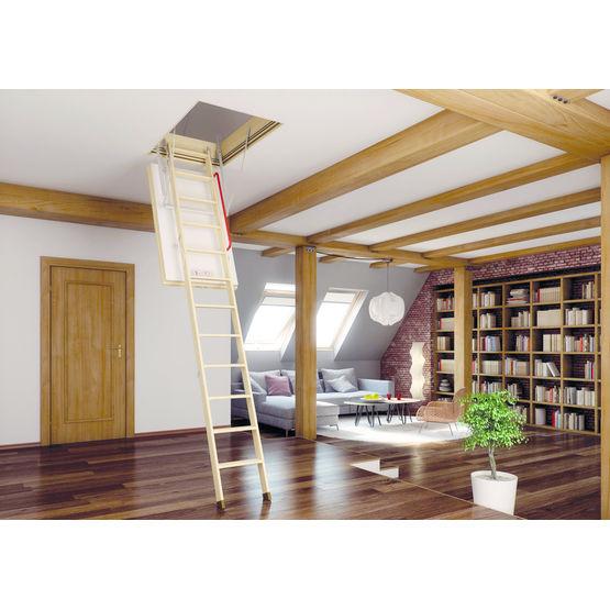 trappe escalier escamotable. Black Bedroom Furniture Sets. Home Design Ideas