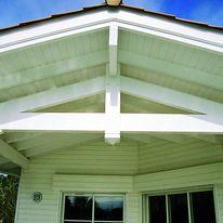 Habillage en pvc pour rives et sous toiture profil s for Pose de lambris pvc sous toiture