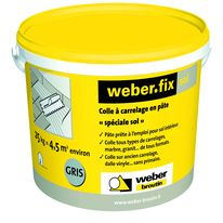 Mortier colle pour int rieur ou ext rieur flex for Colle carrelage exterieur weber
