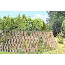 Bloc végétalisable permettant dépouser la forme du terrain ...