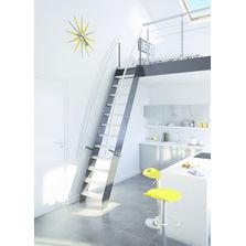 escalier en bois produits du btp. Black Bedroom Furniture Sets. Home Design Ideas