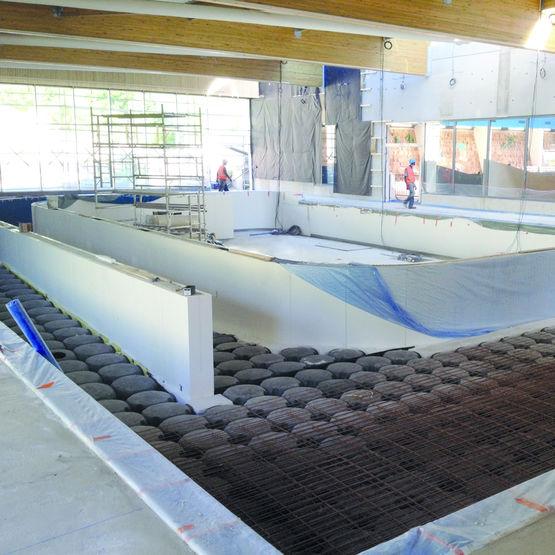 Consulter sur Batiproduits le détail : Coffrage pour la rénovation de piscines