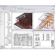 Logiciel de conception et de dessin structurel | Autocad Revit Structure