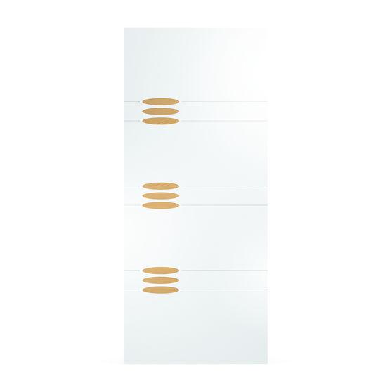 Panneaux pour porte d 39 entr e pvc groupe isosta for Porte 5 panneaux