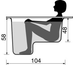 definition de baignoire sabot. Black Bedroom Furniture Sets. Home Design Ideas
