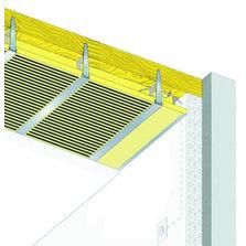 plafonds rayonnants lectriques ou eau produits du btp. Black Bedroom Furniture Sets. Home Design Ideas
