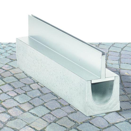 Caniveau fente pour drainage invisible birco france - Caniveau a fente ...