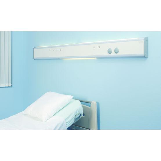 unit technique de t te de lit pour tablissements de sant tlv hospitalier. Black Bedroom Furniture Sets. Home Design Ideas