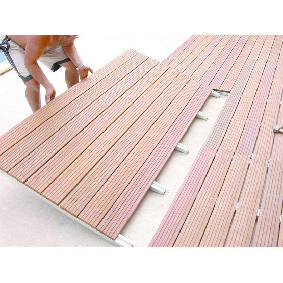 terrasses modulaires bois ou composite sur structure acier. Black Bedroom Furniture Sets. Home Design Ideas