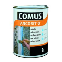 Primaire anticorrosion en phase aqueuse pour supports ferreux | ANCORIT'O