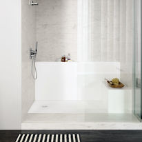Receveurs de douche personnalisables | Corian Smart shower tray
