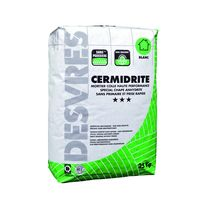 Mortier-colle de carreaux sur chape fluide | Cermidrite SP